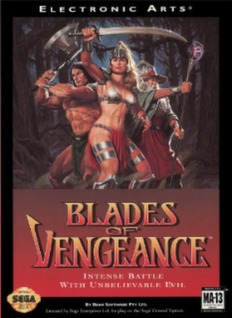 Blades of Vengeance Cover Art
