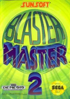 Blaster Master 2 Cover Art