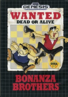 Bonanza Brothers Cover Art