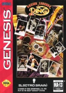 Boxing Legends of the Ring Cover Art