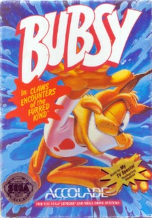 Bubsy Cover Art
