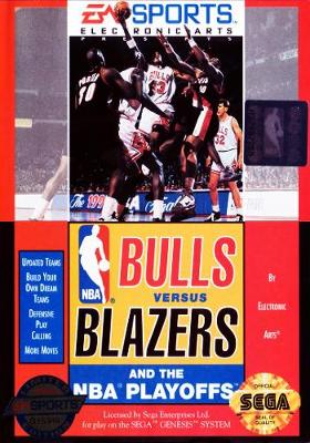 Bulls versus Blazers and the NBA Playoffs Cover Art
