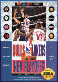 Bulls vs Lakers and the NBA Playoffs Cover Art