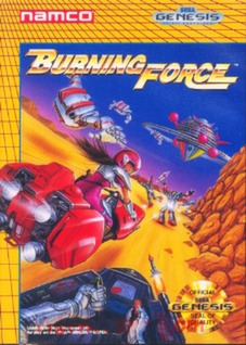 Burning Force Cover Art