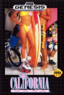 California Games Cover Art
