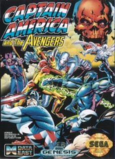 Captain America and the Avengers Cover Art