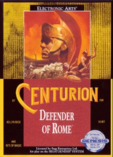 Centurion: Defender of Rome Cover Art