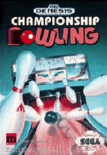Championship Bowling Cover Art