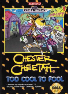 Chester Cheetah: Too Cool to Fool Cover Art