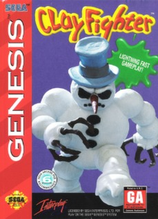 ClayFighter Cover Art