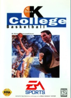 Coach K College Basketball Cover Art
