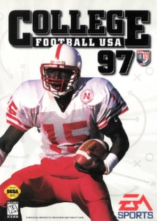 College Football USA 97 Cover Art