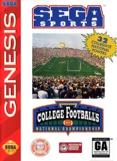 College Football's National Championship Cover Art