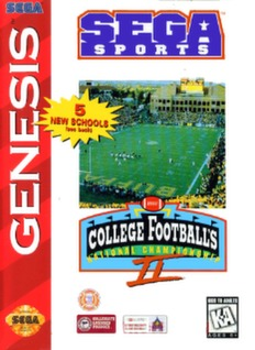 College Football's National Championship II Cover Art