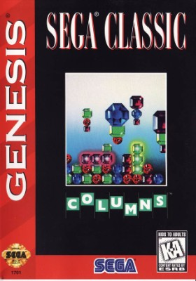 Columns [Sega Classic] [Cardboard] Cover Art