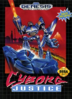 Cyborg Justice Cover Art