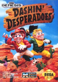 Dashin Desperadoes Cover Art