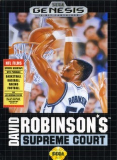 David Robinson's Supreme Court Cover Art