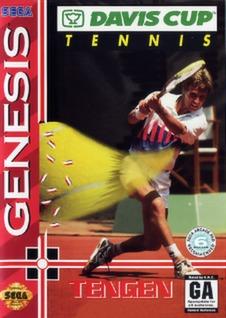 Davis Cup Tennis Cover Art