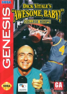 Dick Vitale's Awesome Baby! College Hoops Cover Art