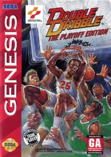 Double Dribble: The Playoff Edition Cover Art