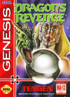 Dragon's Revenge Cover Art