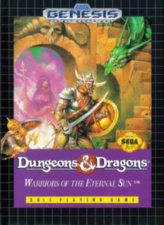 Dungeons & Dragons: Warriors of the Eternal Sun Cover Art