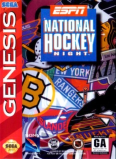 ESPN National Hockey Night Cover Art