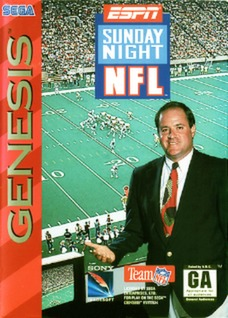 ESPN Sunday Night NFL Cover Art