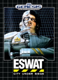 ESWAT: City Under Siege Cover Art