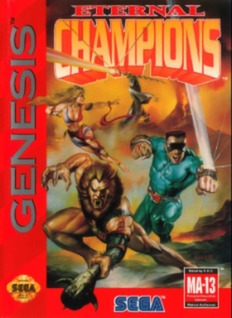Eternal Champions Cover Art