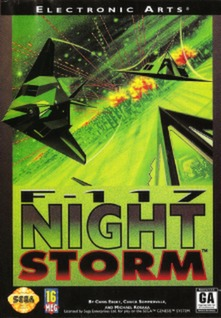 F-117 Night Storm Cover Art