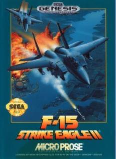F-15 Strike Eagle II Cover Art