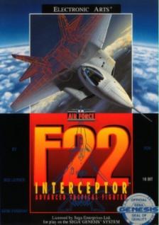 F-22 Interceptor Cover Art