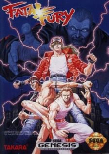 Fatal Fury Cover Art