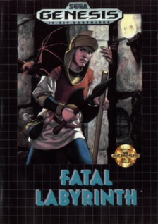 Fatal Labyrinth Cover Art