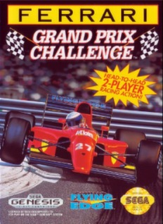Ferrari Grand Prix Challenge Cover Art