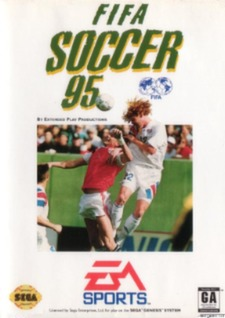 FIFA Soccer 95 Cover Art