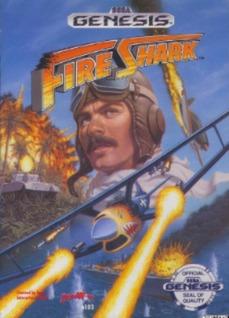 Fire Shark Cover Art