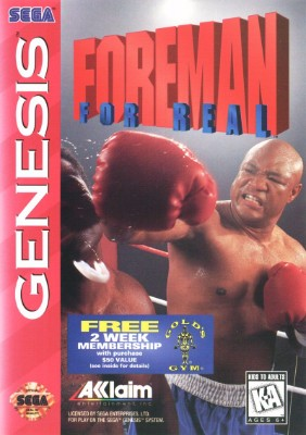 Foreman For Real Cover Art