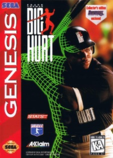 Frank Thomas Big Hurt Baseball Cover Art
