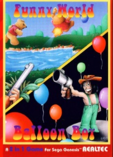 Funny World & Balloon Boy Cover Art