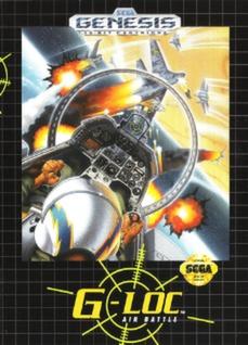 G-LOC Air Battle Cover Art