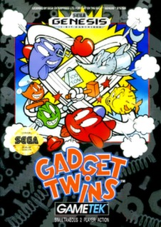 Gadget Twins Cover Art