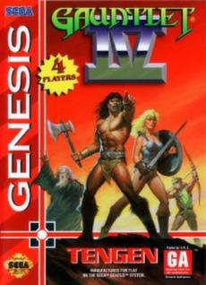 Gauntlet IV Cover Art