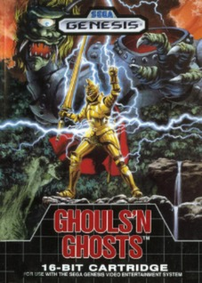 Ghouls N Ghosts Cover Art