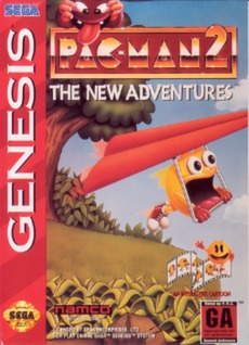 Pac-Man 2: The New Adventures Cover Art