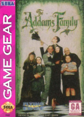 Addams Family Cover Art