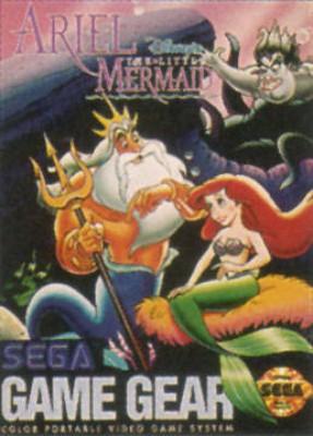 Ariel: The Little Mermaid Cover Art