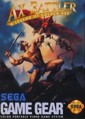 Ax Battler: A Legend of Golden Axe Cover Art